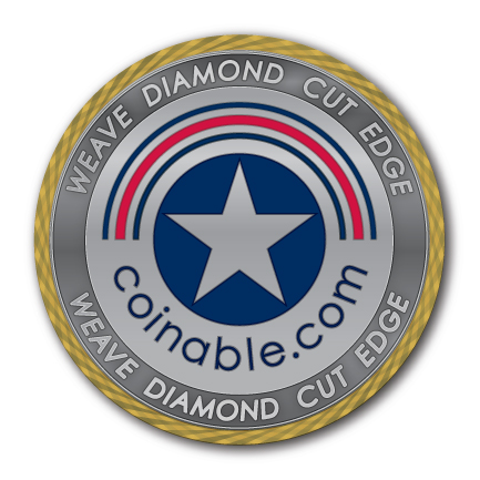 weave-diamond-cut-edge-challenge-coin-after-plating