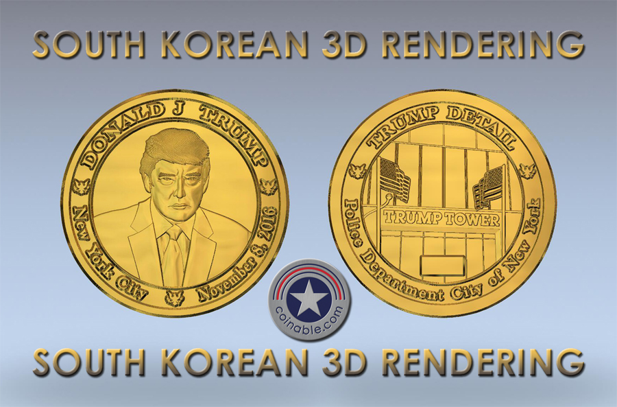 South-Korean-Made-Coin-TRUMP-DETAIL-3D